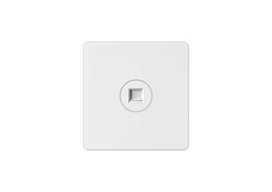 一位电话插座/一位电脑插座