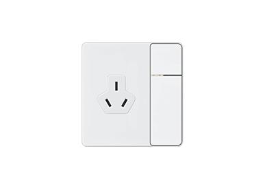 一位单控开关带16A三极插座/一位双控开关带16A三极插座